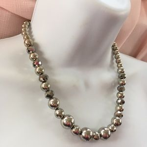 Jewelry - Acrylic Bead Necklace & Bracelet Set